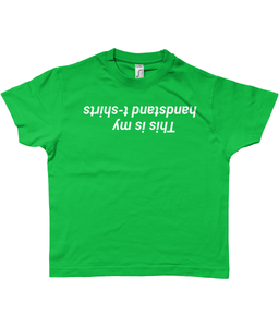 This is my handstand t-shirts - Kids heavy T-shirt