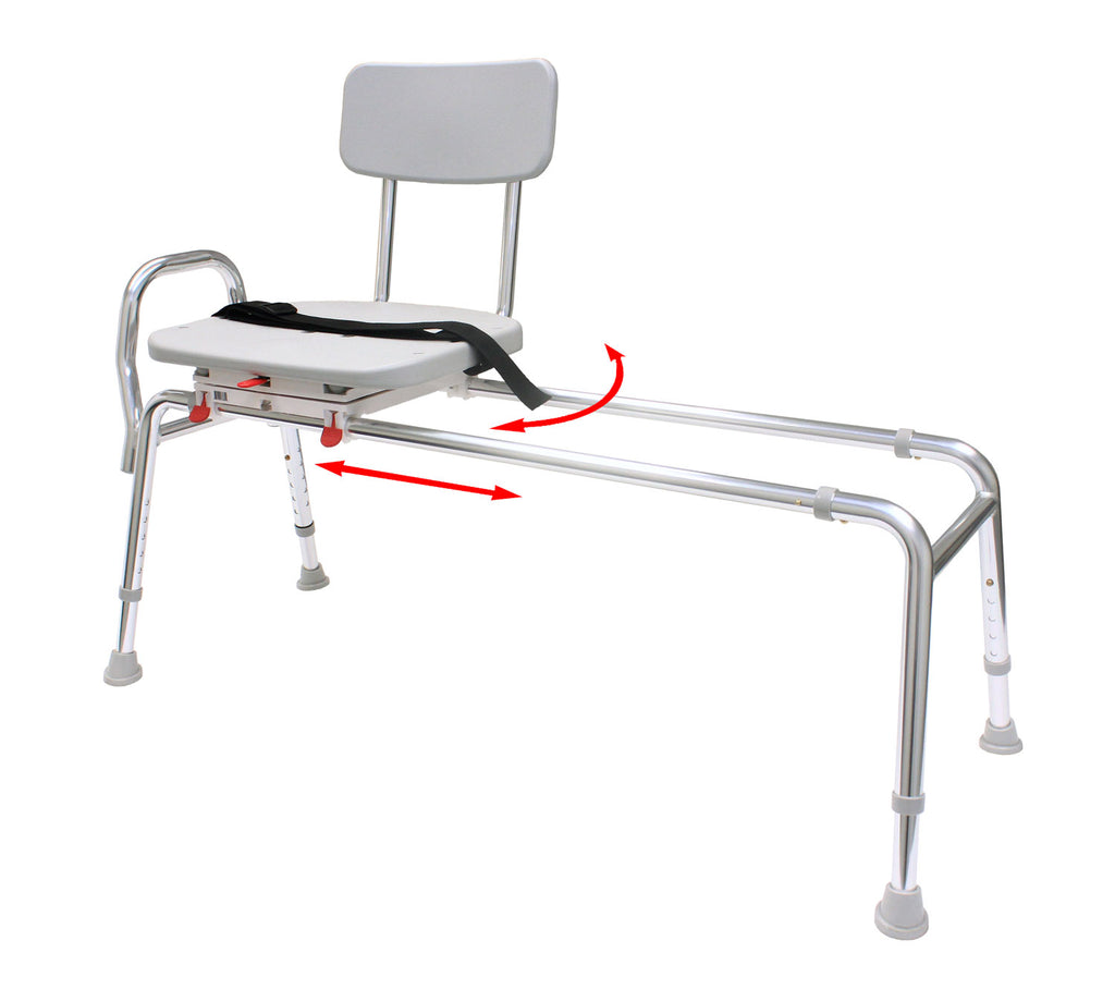 77692 - Swivel Sliding Transfer Bench (Extra Long)