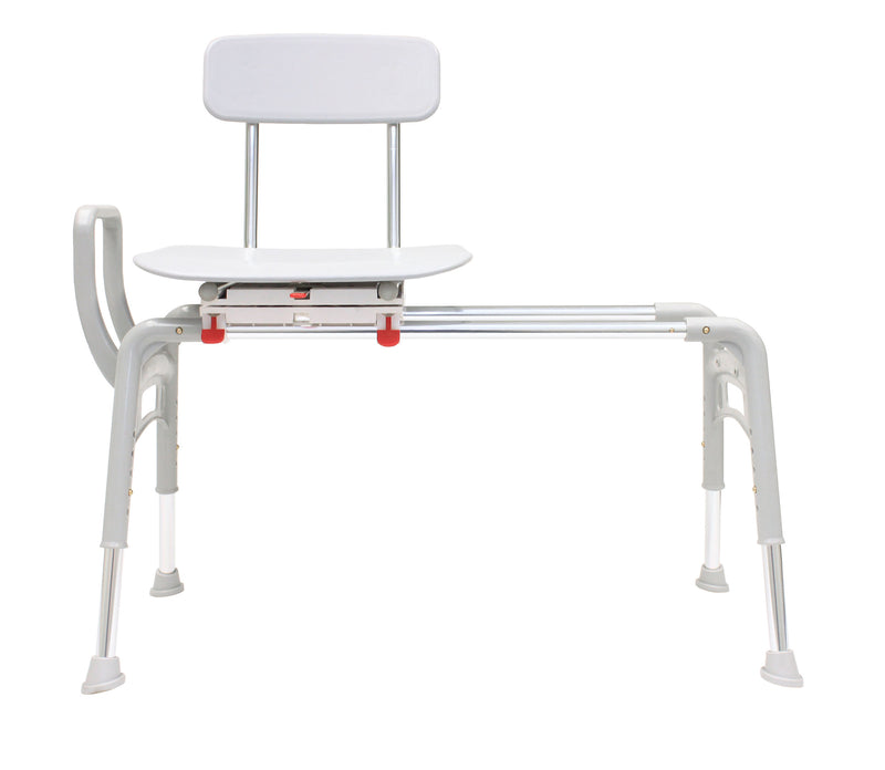 Front View of 78668 - Swivel Sliding Ergo Transfer Bench (Regular)