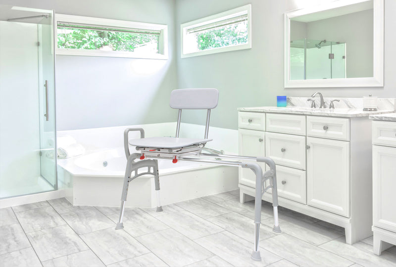 Bathroom image of 78668 - Swivel Sliding Ergo Transfer Bench (Regular)