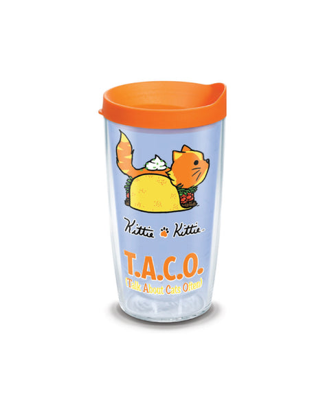 TACO KITTIE 16oz TUMBLER