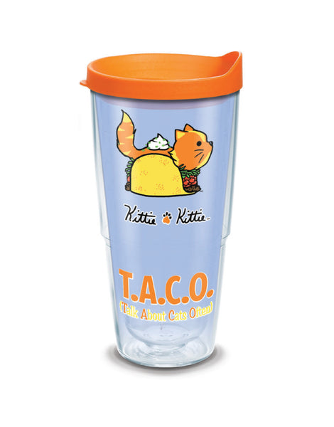 TACO KITTIE 24oz TUMBLER