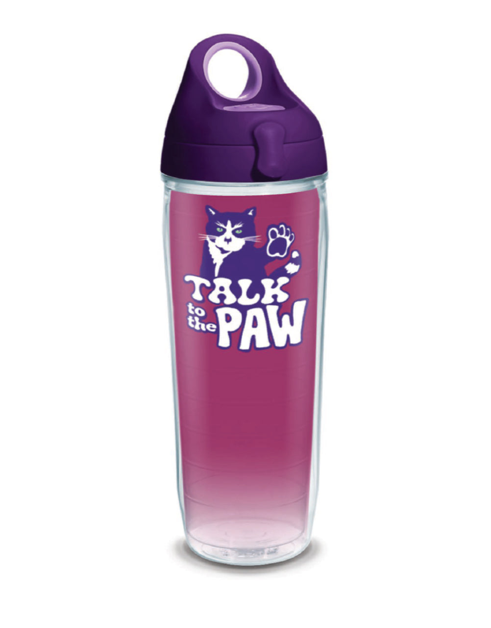 TALK TO THE PAW 24oz WATER BOTTLE