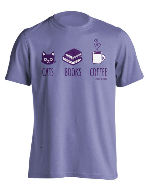 CATS BOOKS COFFEE