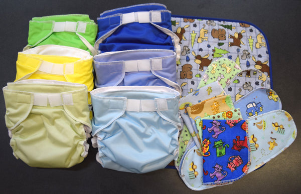 Baby Love All-in-One Cloth Diaper Sample Pack