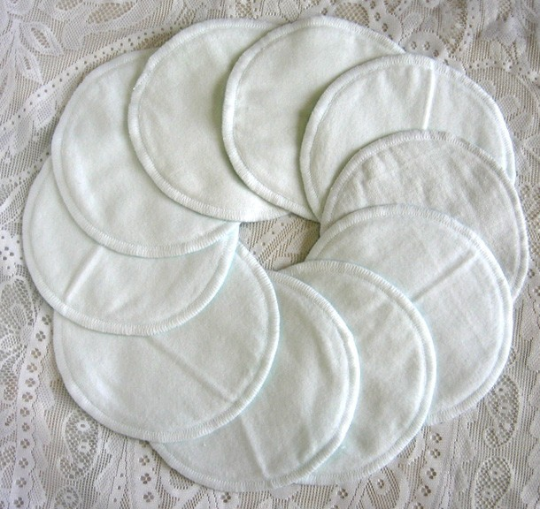 Cotton Nursing Pads - Flat