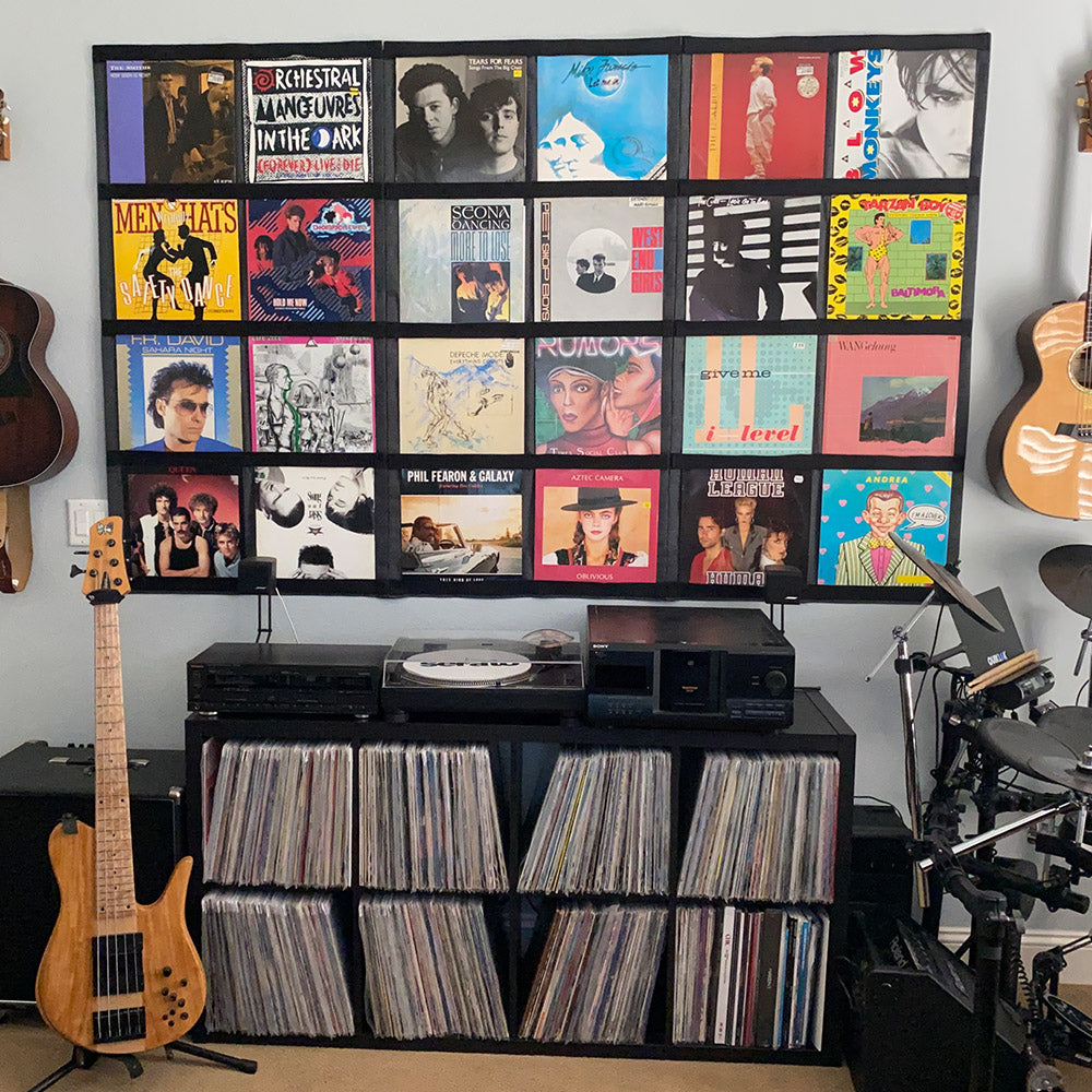 "12"" Vinyl Record Display Frame - LP Wall Storage"