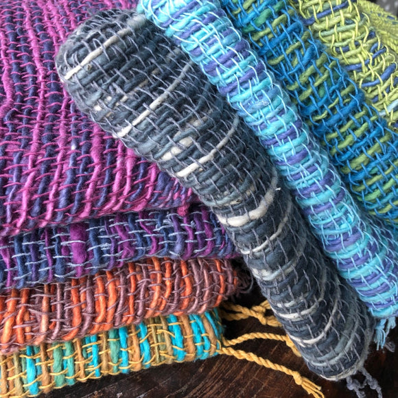SCPC2 - Handspun cotton ikat, package of 6