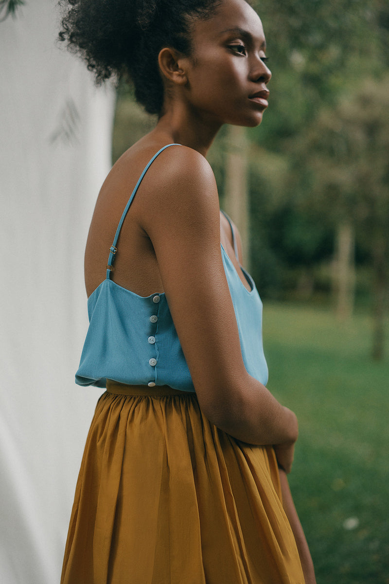 Ceylon Top | Zinnia Skirt