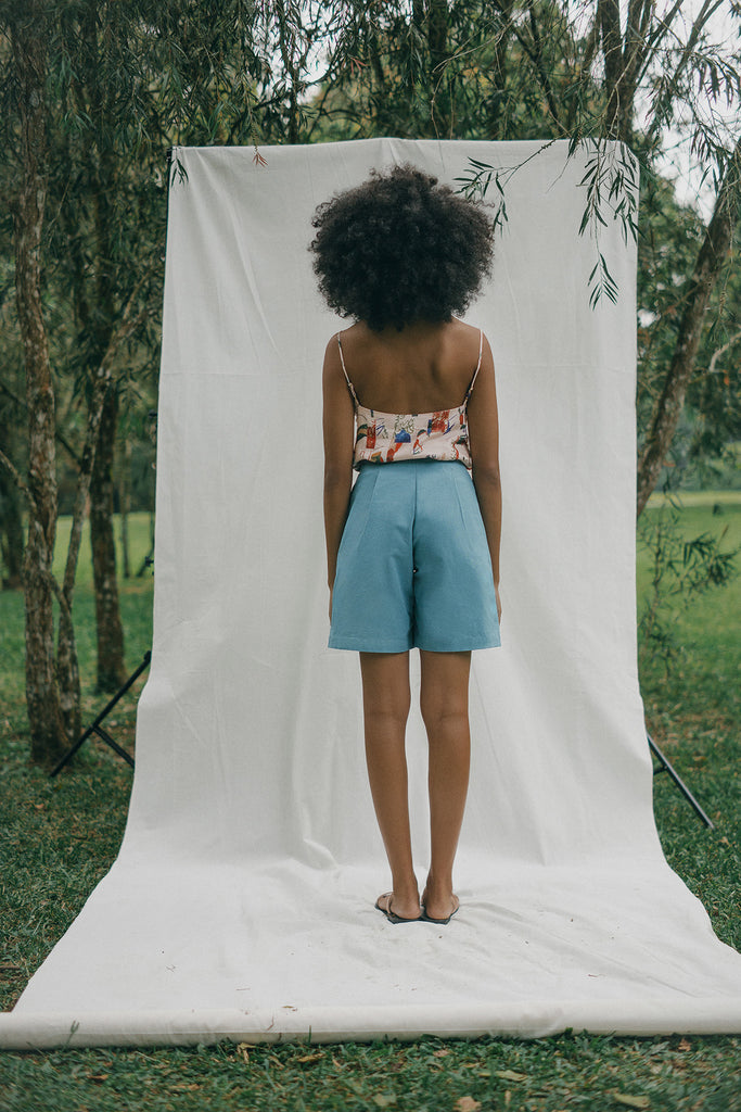 Ceylon Top | Iris Short
