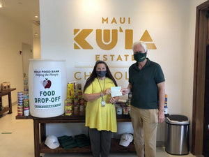 Maui Now: MKEC & The Maui Food Bank-Maui Kuʻia Estate Chocolate