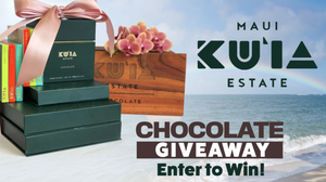 Mother's Day Giveaway-Maui Kuʻia Estate Chocolate