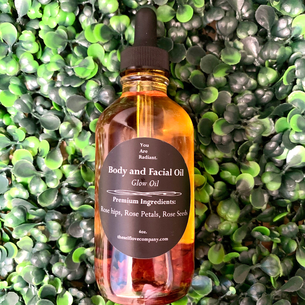Glow Facial and Scalp Oil