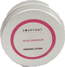 Organic Lotion Rose Geranium