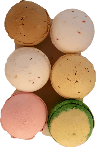 6 x Jumbo Bath Bombs Gift Wrapped  Set