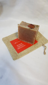 Rosehip Orange, Patchouli Soap Bar