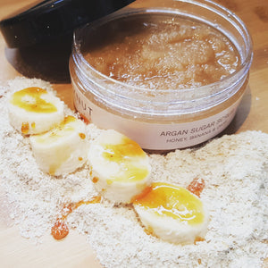 Argan Sugar Scrub | Banana | Honey | Oat