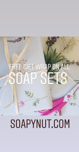 Soapy Trio Gift Wrapped  Set