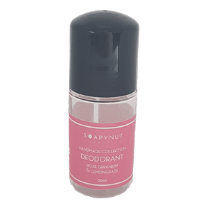 Rose Geranium, Lemongrass, Natural Deodorant