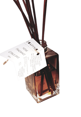 Reed Diffuser Citrus Spice, Natural Perfume