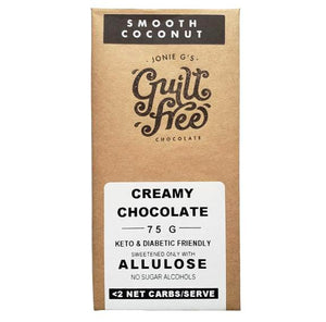 Guilt Free Smooth Coconut Chocolate 75g