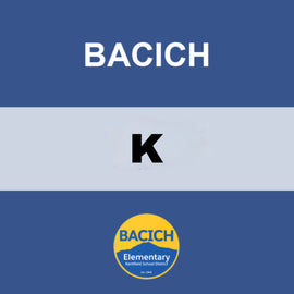 BACICH | KINDERGARTEN <br/> THURSDAYS | VEGETARIAN <br/> VEGGIE HOT DOGS AND TATER TOTS
