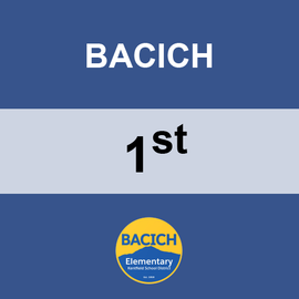 BACICH | 1ST GRADE <br/> THURSDAYS | TRADITIONAL <br/> Hotdogs and Tater tots