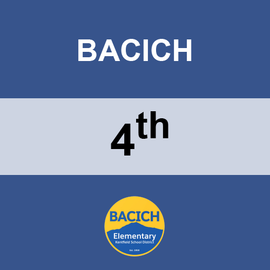 BACICH | 4TH GRADE <br/> TUESDAYS | WHEAT FREE <br/> TACO TUESDAY
