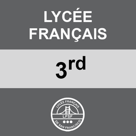 LYCEE FRANCAIS | 3RD GRADE <br/> MONDAYS | TRADITIONAL <br/> HOTDOGS OR HAMBURGERS AND TATER TOTS