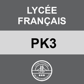 LYCEE FRANCAIS | PK3 <br/> MONDAYS | TRADITIONAL <br/> HOTDOGS OR HAMBURGERS AND TATER TOTS