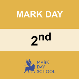 MARK DAY | 2ND GRADE <br/> WEDNESDAYS | TRADITIONAL <br/> PIZZA FROM STEFANO'S PIZZERIA
