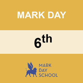 MARK DAY | 6TH GRADE <br/> WEDNESDAYS | TRADITIONAL <br/> PIZZA FROM STEFANO'S PIZZERIA