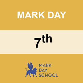 MARK DAY | 7TH GRADE <br/> WEDNESDAYS | TRADITIONAL <br/> PIZZA FROM STEFANO'S PIZZERIA
