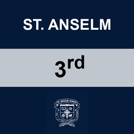 ST. ANSELM | 3RD GRADE <br/> WEDNESDAYS | TRADITIONAL <br/> HOTDOGS OR HAMBURGERS AND TATER TOTS