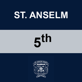 ST. ANSELM | 5TH GRADE <br/> TUESDAYS | VEGETARIAN <br/> << NO SERVICE DAY >>