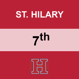 ST. HILARY | 7TH GRADE <br/> WEDNESDAYS | VEGETARIAN <br/> << NO SERVICE DAY >>