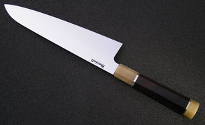 240mm Wa Gyuto in 52100 with KnivesandStones Handle