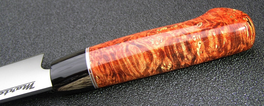160mm Petty - Orange Box Elder Western - CPM154