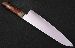 240mm Yo Gyuto - AZ Ironwood Burl - O1 -Professional
