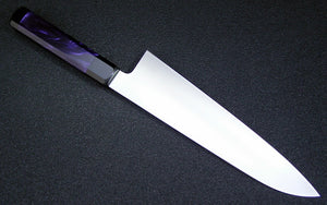 "225mm Wa Gyuto - ""Purple Pearl"" Poly Acrylic - CPM154"
