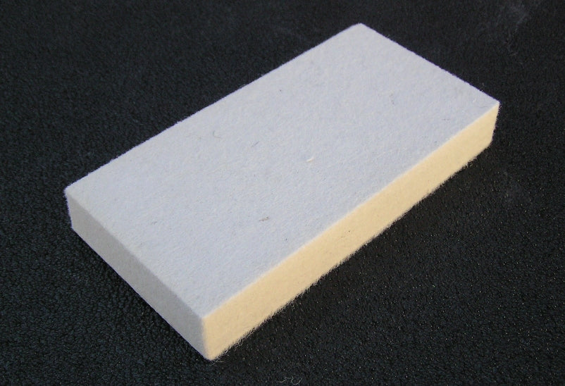Hard Felt Deburring Block