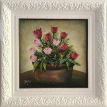 tulips  |  40x40cm  |  original painting SOLD