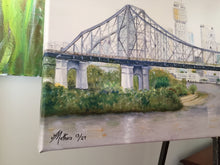 PRINT: story bridge brisbane city  |  100x30cm - from original
