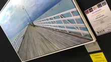 PRINT storm over shorncliffe pier  |  150x100cm - from original