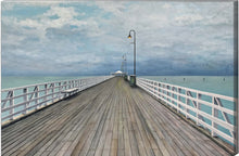 PRINT: storm over shorncliffe pier  |  150x100cm - from original