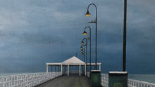 storm over shorncliffe pier  |  152x101cm  |  original painting SOLD