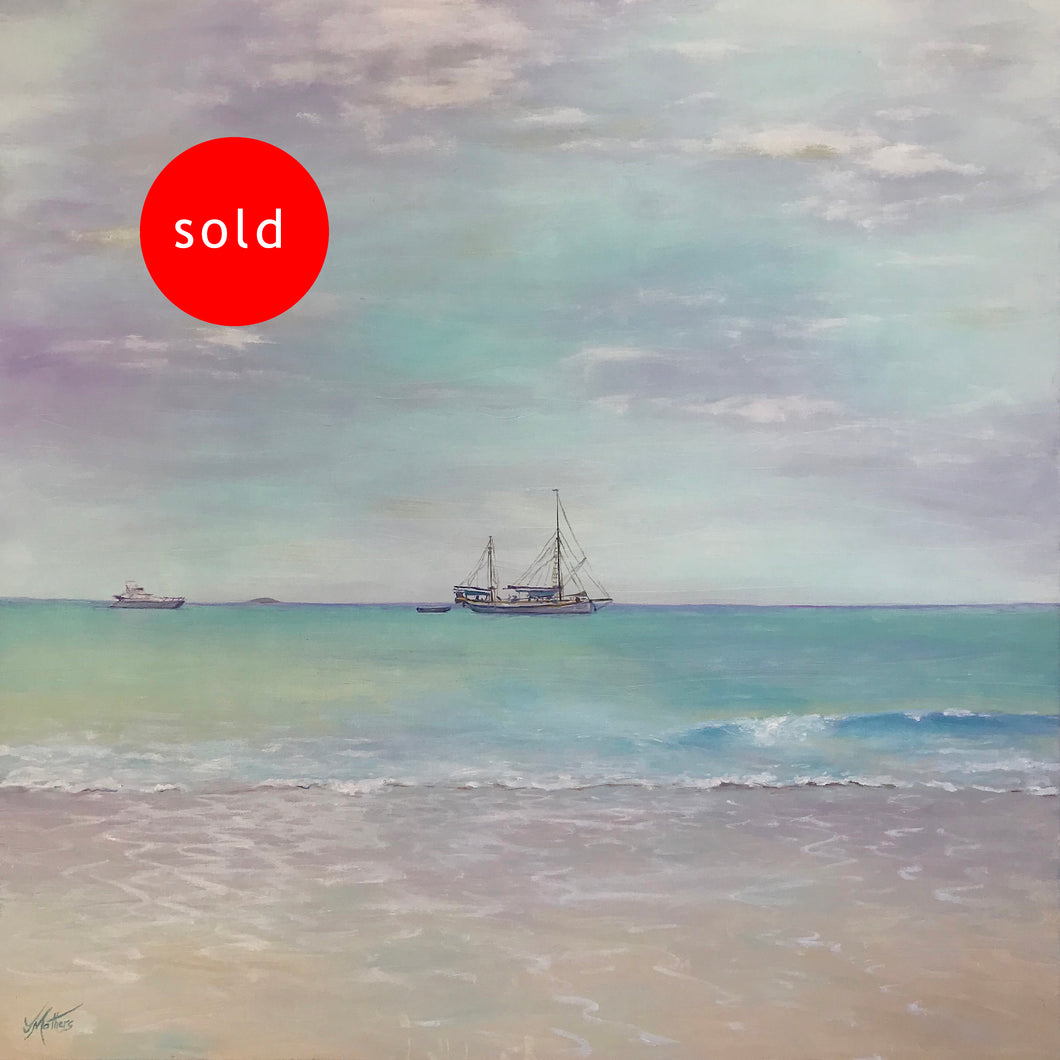 whitehaven   |  76x76cm  |  original painting SOLD