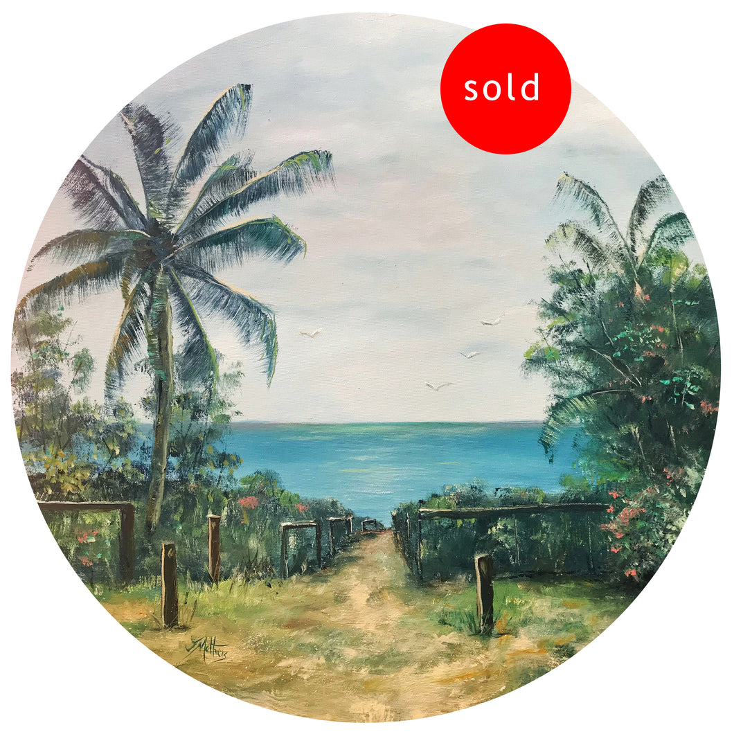 corbett street yeppoon  |  50x50cm  |  original painting SOLD