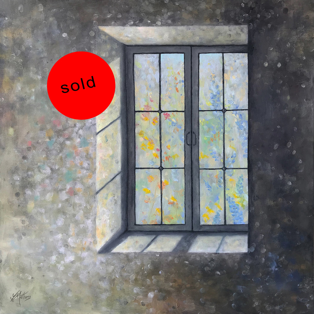 a light view  |  60x60cm  |  original oil painting | sold