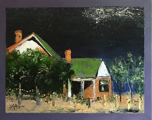 night before christmas  |  45x35cm  |  original oil painting SOLD